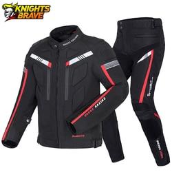Winter Motorcycle Jacket Cold-proof Waterproof Moto Motocross Jacket Motorbike Riding Clothing Men Chaqueta Moto Protective Gear