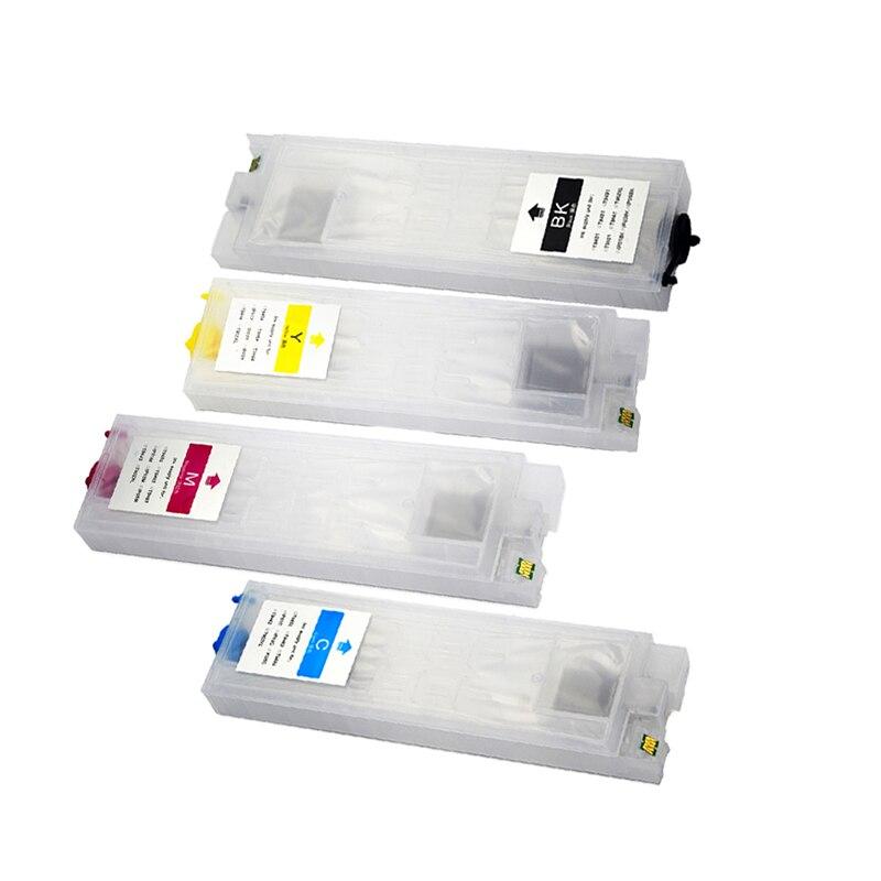 Vilaxh T945 T9451-T9454 cartouche d'encre rechargeable pour Epson T945xl main d'oeuvre Pro WF-C5290 WF-C5790 imprimante WF-C5210 WF-C5710 - 2