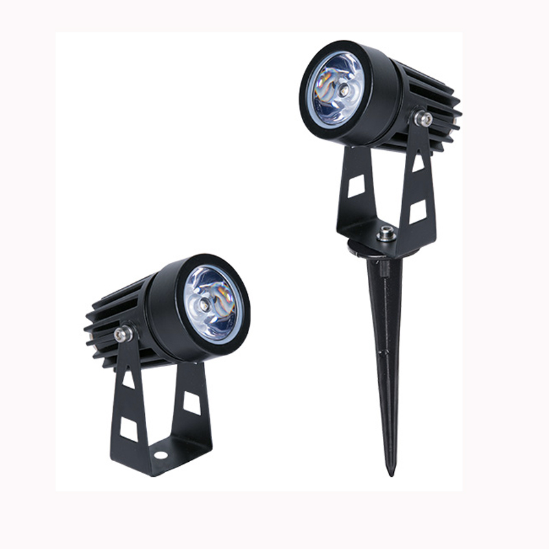 1W 3W LED Garden Lighting Outdoor Spike Lawn Lamp Waterproof Lighting Led Light Garden Path Spotlights AC110V 220V DC12V
