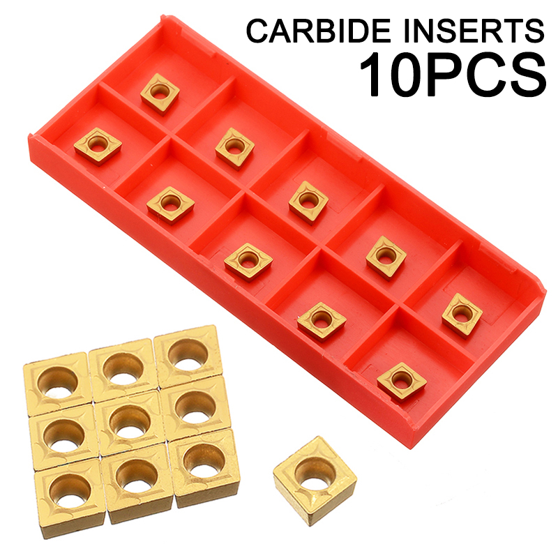 for tools for lathe. Tin 10 Carbide Inserts CCMT 060204-hm