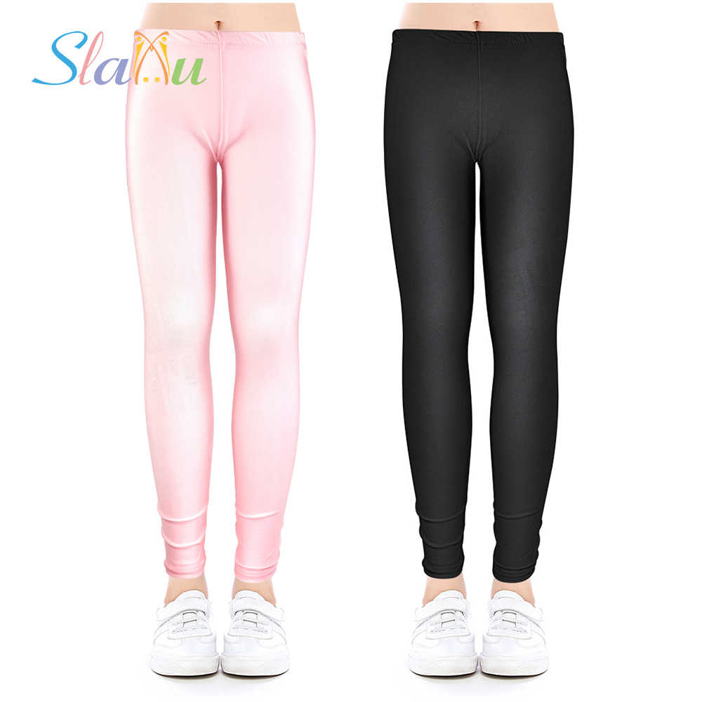 Elasticity Nylon Girls Leggings Kids Ankle Length Leggings Children Girls Luster Pencil Pants Leggings For Girl Teens Clothes Girls Leggings Leggings For Girlsgirls Leggings Kids Aliexpress
