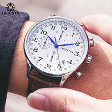 OCHSTIN Top Luxury Brand Men Business Rose Watches Chronograph