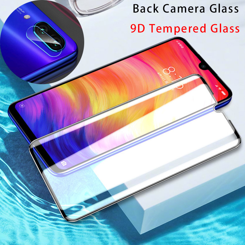 2 In 1 Screen Protector 9D Tempered Glass For Xiaomi Redmi 8 7 6 Pro 5 Plus Back Camera Lens Film For Redmi 8A 7A 6A S2 Go Glass