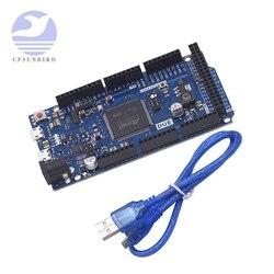 Плата Due R3 ATMEGA16U2 ATSAM3X8E ARM, основная плата управления с USB-кабелем для arduino