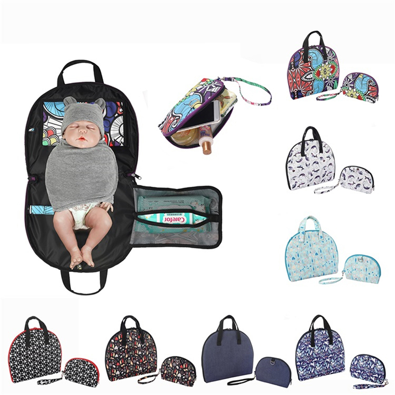 Waterproof Diaper Bag Multi-function Baby Insulation Pad Baby Diaper Bag Mummy Bag Convenient Infant Maternal And Child Supplies