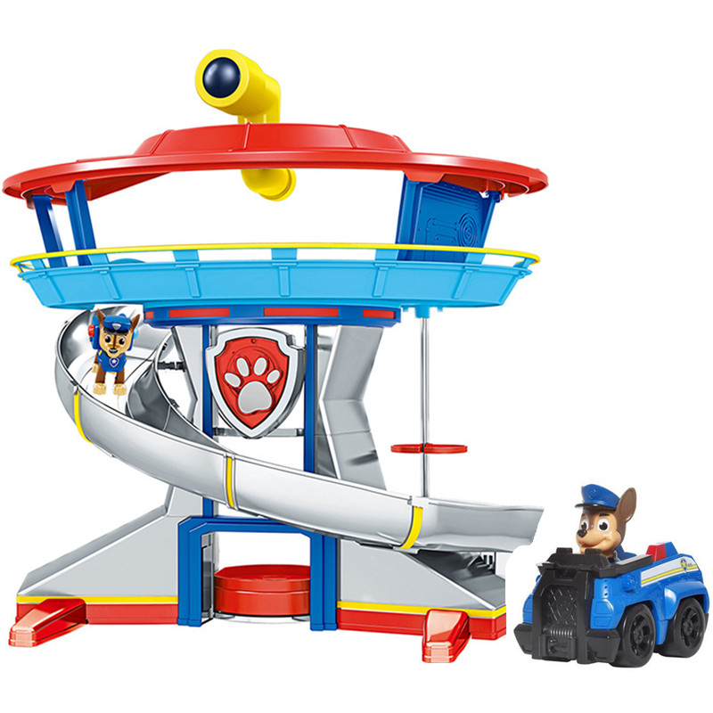 Paw Patrol Toys Set Rescue Base Command Center Paw Patrol Toy Patrulla Canina Anime Action Figures Model Toy For Children Gift