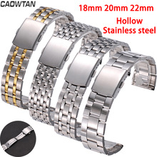 18mm 22mm 20mm Stainless Steel For SAMSUNG Galaxy Watch 42 46mm Band galaxy watch 3 For Amazfit Bip GTR strapsBracelet Replaceme