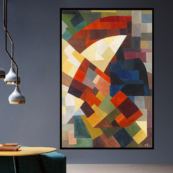 Modern Minimalism Print Otto Pixel Abstract Art Decoration Canvas Painting Living Room Poster Home Wall Decoration image