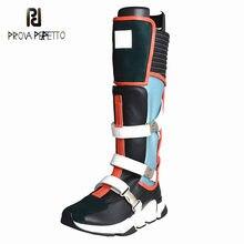 Prova Perfetto Fazer Velho Mulheres Sapatos 2019 Novos Sapatos de Desporto Botas Mulheres Running Shoes Estudante Maré Correspondência de Cor Fivela de Cinto booties