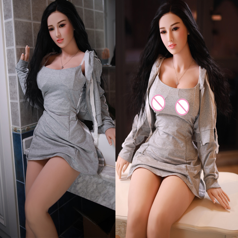 NEW 161cm Silicone <font><b>Sex</b></font> <font><b>Doll</b></font> <font><b>Fat</b></font> Ass Soft Butt <font><b>Big</b></font> Breast Real <font><b>Dolls</b></font> Lifelike Vagina Pussy Anal Adult Toy For Men image