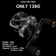 цена на Fishing Spinning Reel Saltwater Fishing Reel Carp Fishing Reels 6000 6:6:1 Rock  Carbon Fiber Body Fishing Reel Spinning Reels