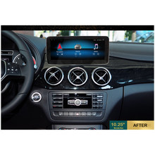 Hualingan Für Benz A B CLA GLA NTG 4,5 Android auto multimedia navigationsystem Octa Core 4G internet 64G lagerung WIFI Carplay(China)