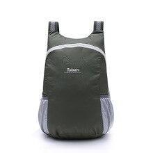 TUBAN Lightweight Nylon Foldable Backpack Waterproof Backpack Folding Bag Portab
