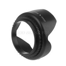 49 мм 52 мм 55 мм 58 мм 62 мм 67 мм 72 мм 77 мм лепестковая бленда для объектива Nikon Canon Sony Fuji Olympus DSLR камера