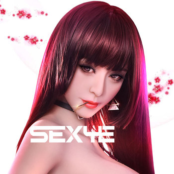 SEXYE Real Silicone Sexy Doll Head with Realistic Oral Adult Sex Toy for Man