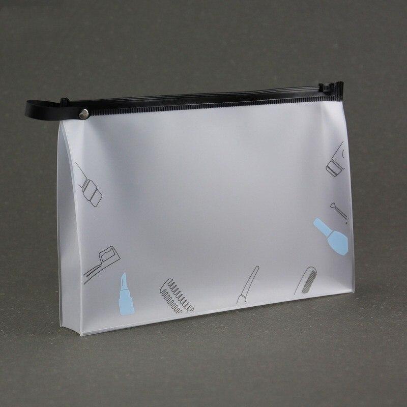 Women Clear Swimming Bags PVC Storage Bags Sports Travel Organizer Case Waterproof Bath Wash Bag