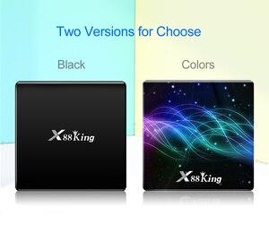 Image 2 - X88 rei 4gb 128g amlogic s922x caixa de tv android 9.0 duplo wifi bt5.0 1000m 4k googleplay loja youtube 4k conjunto caixa superior media player