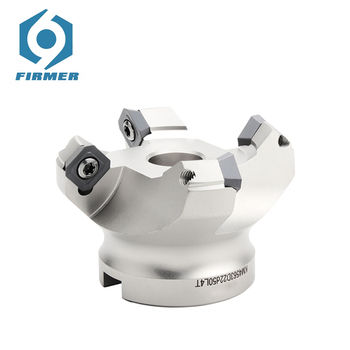 CNC Face Milling Disc KM12 Cutter Head KM12-50-22 Milling Tool Holder Angle 45° For Carbide Insert SEKT1204