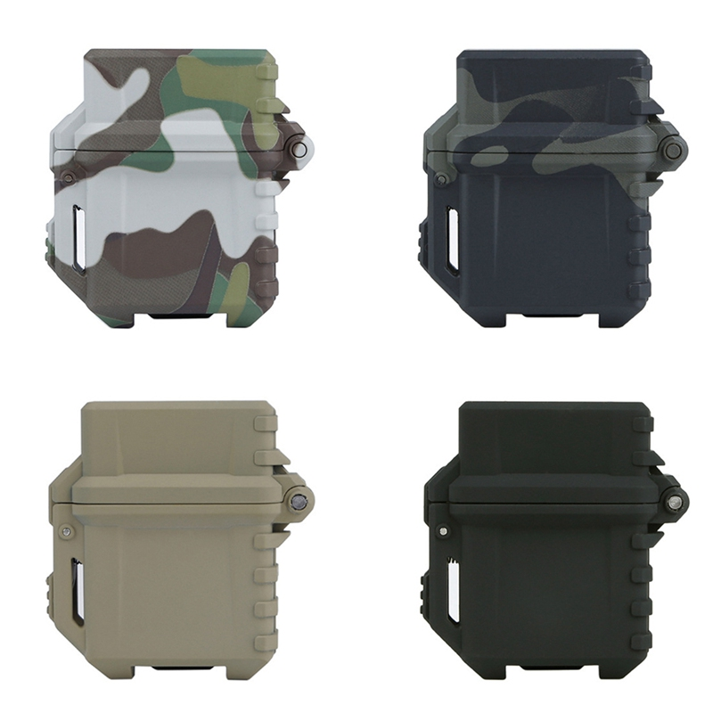 Tactical Lighter Storage Case Universal Portable Box Container Organizer Holder For Zippo Inner Tank New