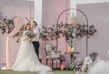 Kwiat znak z powitaniem na wesele Billboard żelazna rama łukowa z cokołem stół ciasto stojak na balon na przyjęcie urodzinowe Backdrops Decor tanie tanio CN (pochodzenie) Metal