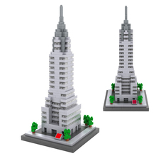 LegoINGlys creators city famous Street view Chrysler new york US mini micro diamond building blocks model bricks toys for gifts legoinglys city creators street view australia sydney opera house micro diamond building blocks model nano bricks toys for gifts