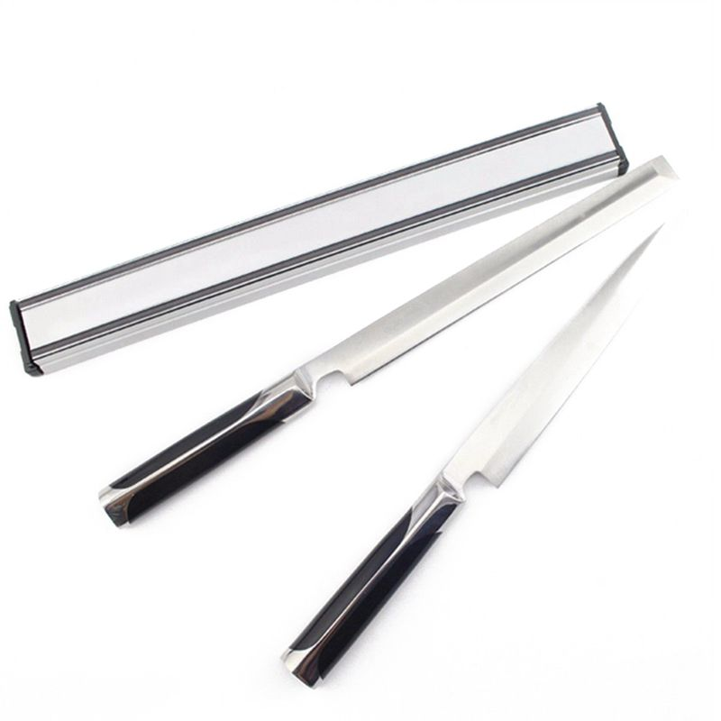 38cm Magnetic Knife Holder Rack Storage Strip Kitchen Knives Bar Wall Mounted,38x4.3x2CM
