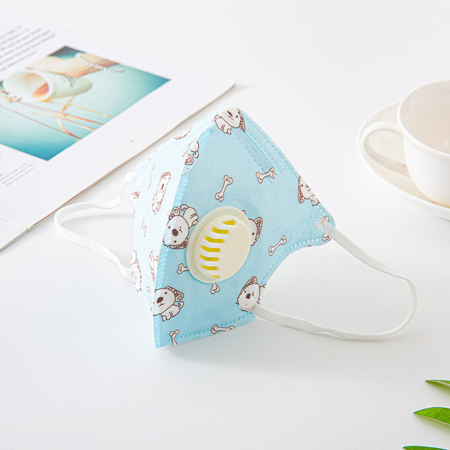ffp3 Children's Butterfly Breathable Breathing Valve Mask Hanging Ear Protection Anti-Fog Anti-flu Mask