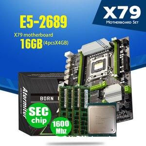 Image 2 - Atermiter X79 Turbo Motherboard LGA2011 ATX Combos E5 2689 CPU 4pcs x 4GB = 16GB DDR3 RAM 1600Mhz PC3 12800R PCI E NVME M.2 SSD