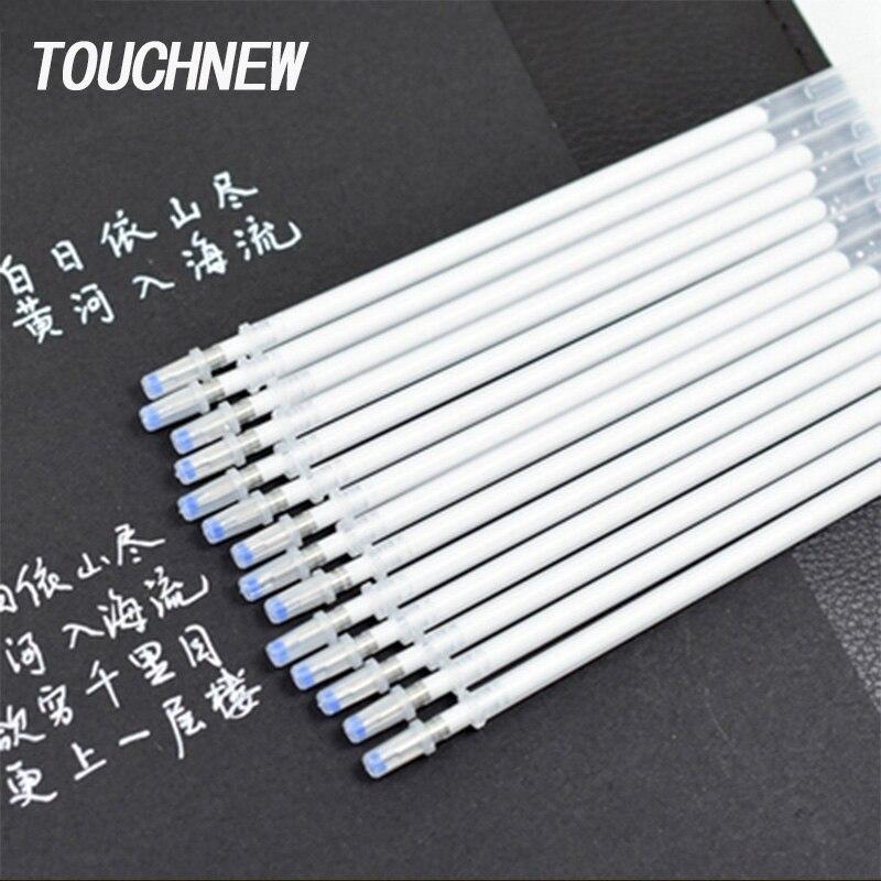 TOUCHNEW White Hightlight Art Marker 0.8mm Color Gel Pen Sketch Hook Liner Pen Refills For Anime Paint Design Art Supplies