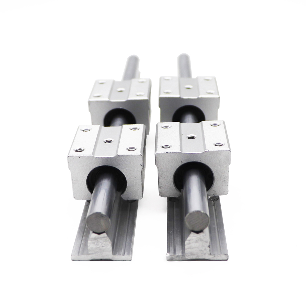 SBR12 12mm Linear Rail Length 300mm 400mm 500mm 600mm 700mm 800mm Linear Guide With SBR12UU Linear Block Cnc Part