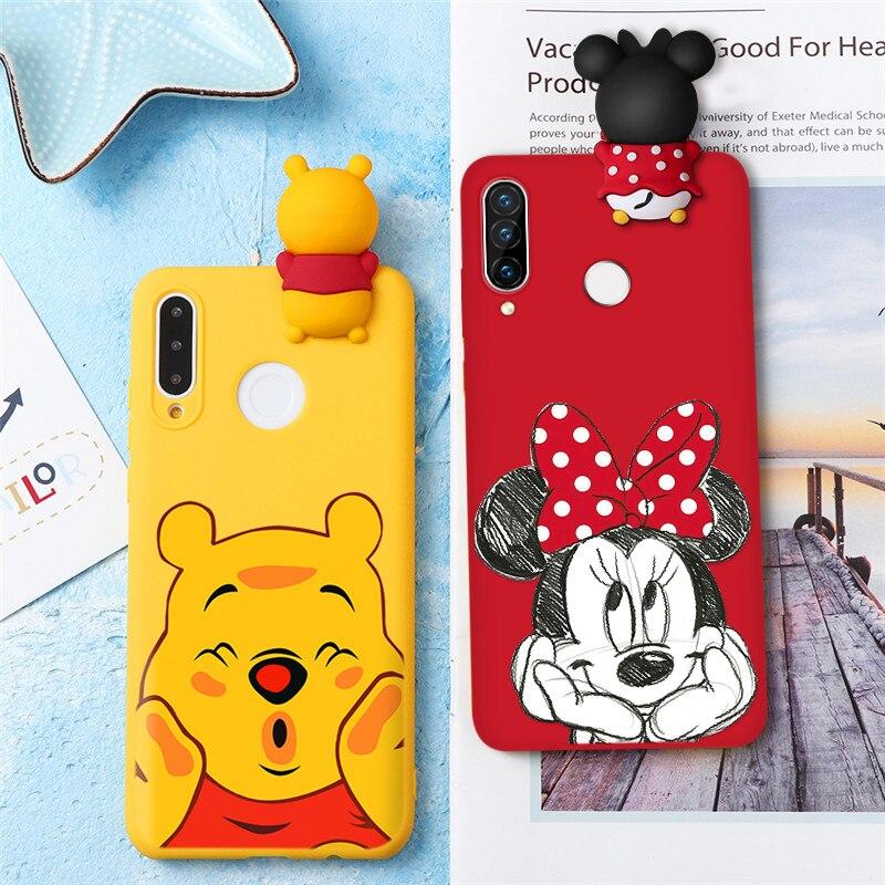 Cartoon Doll Case For Huawei P40 Lite E P30 P20 Honor 20 Pro 10 Lite 10I 20I 8X Play 9A Y5P Y6P P Smart 2020 Y9 Prime 2019 Cover