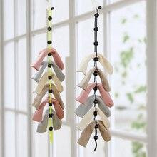 Домашняя сушилка для одежды, носки, подвесная веревка, креативная Многофункциональная Корзина для одежды