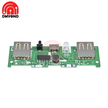 DC 5V 1A 2A Mobile Power Bank Charger Control Board 6
