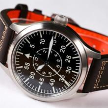【Escapement Time】Automatic NH35 Movement Pilot Watch wit