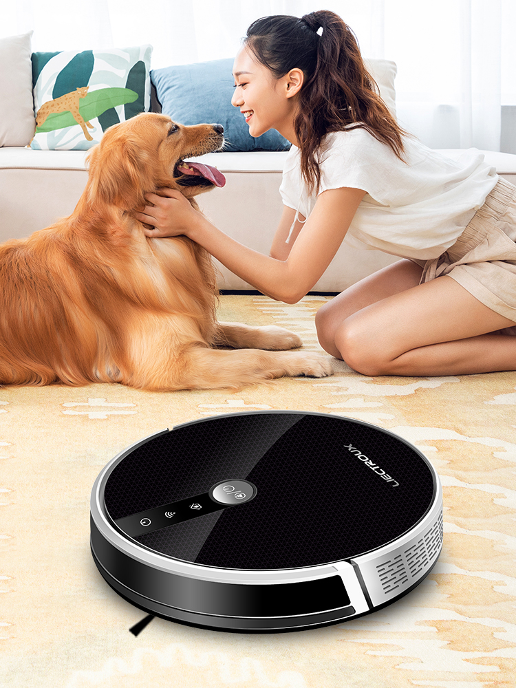 Robot-Vacuum-Cleaner Suction Mopping-Disinfect Smart-Memory Liectroux C30b Navigation-Wifi-App