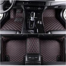 Mata błyskowa len dywaniki samochodowe fit 98% model samochodu dla Toyota Lada Renault Kia volkswagen Honda BMW BENZ akcesoria podkładki pod stopy