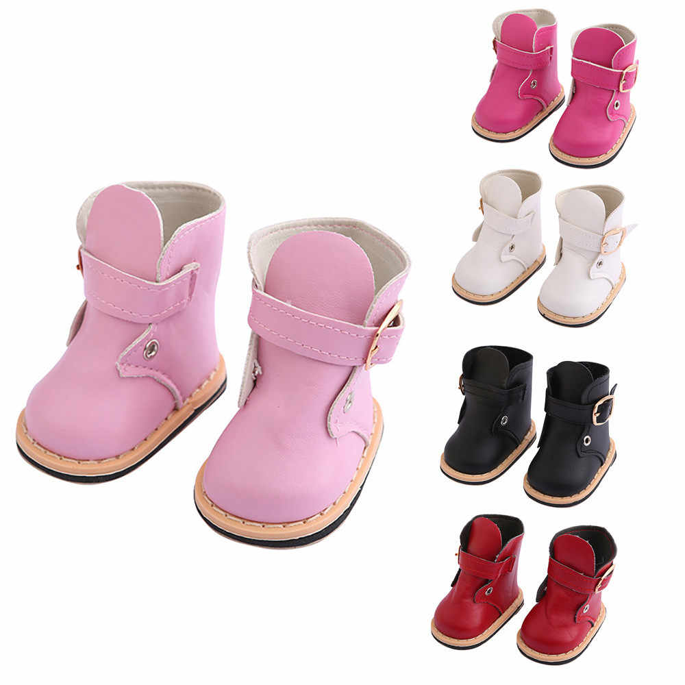 Cute Fashion Boots For 18 Inch American Doll Accessory Girl Toy Give the child DIY doll shoes accessories Jouets pour enfants