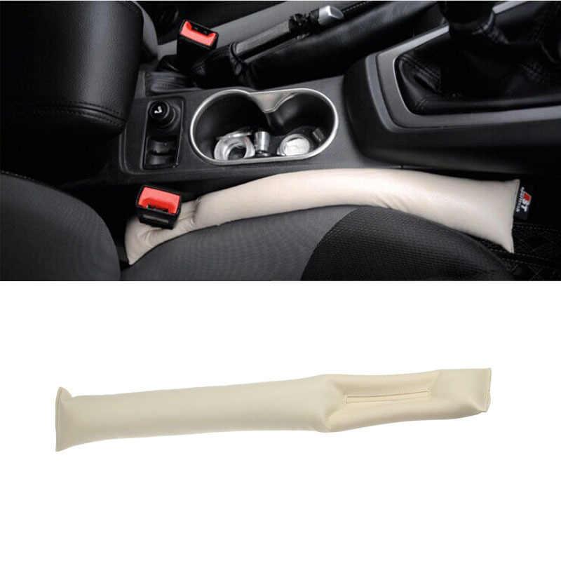 Assento de carro gap almofada enchimentos coldre espaçador enchimento estofamento caso protetor auto cleaner limpo slot plug rolha