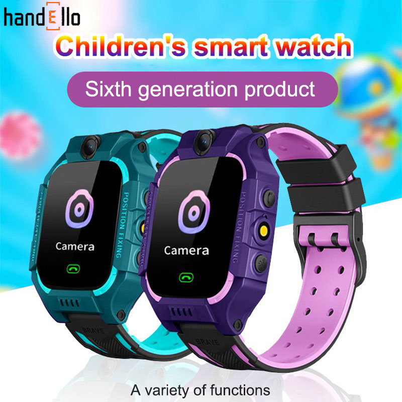 Q19 Kids Smart Phone Watch Waterproof SOS Antil-lost GPS Finder Monitor Multifunction For IOS Android Reloj Inteligente Nio