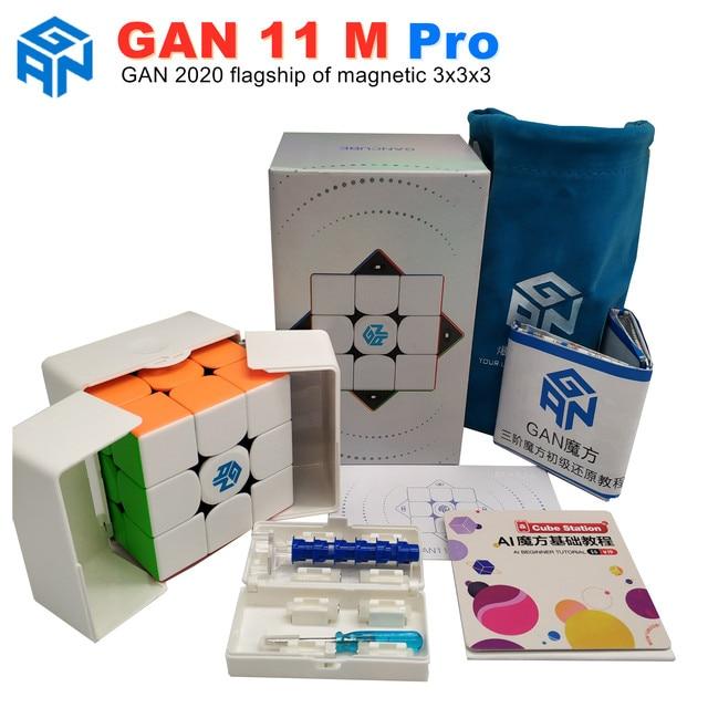 GAN 11 M Pro Magnetic 3x3x3 Magic Cube Speed GANS Cube Magnets Puzzle Cubes GAN11M Toys For Children 1