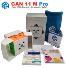 GAN 11 M Pro magnetyczne 3x3x3 magiczna kostka prędkość GANS kostki magnesy Puzzle kostki GAN11M zabawki dla dzieci