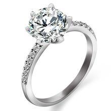 Классические роскошные кольца серебряного цвета 2020 очаровательные