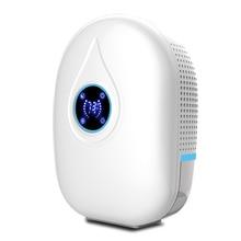 цена на -Dehumidifier Portable Mini Electric Dehumidifier Ultra Quiet Air Cleaner for Home, Kitchen, Garage, Wardrobe, Basement