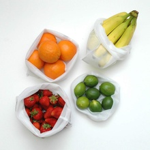 5Pcs/Set Practical Durable Mesh Harness Environmentally Pocket Friendly Fruit Vegetable Polyester Storage Bag Supplies