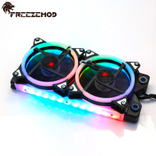 Freezemod Rgb 240Mm Koperen Radiator Verlichting Radiator Dikte 28Mm Water Cooler Koellichaam Waterkoeling 5V Aura sync A-RGB