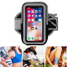 Universal Sport Running Armband For Ulefone Note 7 / S10 Pro Belt GYM Waterproof Bag Mobile Phone Holder Case On hand(China)