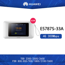 Odblokowany Huawei E5787 E5787S-33A hotspot 300 mb s 4g lte router Cat6 router wi-fi z gniazdo karty sim 4G pasma (1 3 5 7 8 28 40) tanie tanio wireless Brak 802 11ac 300 mbps 433 mbps Firewall Domu Wi-fi 802 11g 2 4G 5G 4G 3G