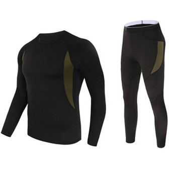 Spring Warm Thin Underwear Suits T-shirts Uniform Hiking Camping Sport Underwear Combat Tactical Underwear Sets Outdoor T-shirts tanie i dobre opinie ZXQYH Poliester Stałe Coolmax Tees Pełna Camping i piesze wycieczki Pasuje prawda na wymiar weź swój normalny rozmiar
