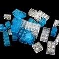 Transparent Dicke Ziegel Modell DIY Bausteine klassische groß teile Kompatibel Alle Marken Spielzeug für Kinder