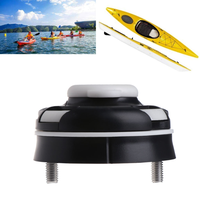 Kayak Boat  Fishing Rod Holder Mount Base Nylon Mount Base Tackle Kit Accessory G8TD